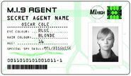 ID card 1 - Oscar Cole