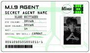 ID card 1 - Blane Whittaker