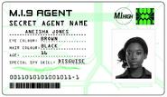 ID card 1 - Aneisha Jones