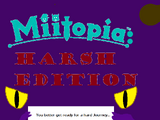 Miitopia: Harsh Edition
