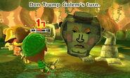 King Golem attacks