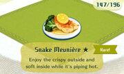 Snake Meuniere 1star