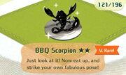 BBQ Scorpion 2star