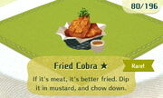 Fried Cobra 1star