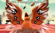 Griffin croc tears