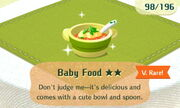 Baby Food 2star