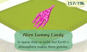 Alien Gummy Candy