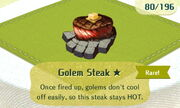 Golem Steak 1star