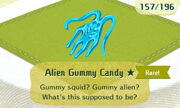 Alien Gummy Candy 1star