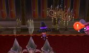 Imp inside castle