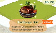 Beefburger 2star