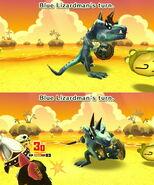 Blue Lizardman attack