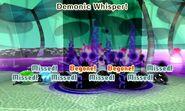 Demonic whisper