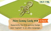 Alien Gummy Candy 2star
