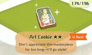 Art cookie very rare