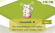 Snowmilk rare