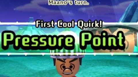 Miitopia Cool Quirk—Pressure Point