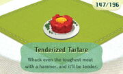 Tenderized Tartare