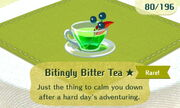 Bitingly Bitter Tea 1star