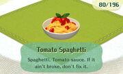 Tomato Spaghetti