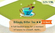 Bitingly Bitter Tea 2star