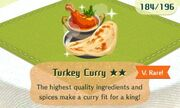 Turkey curry vrare