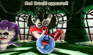 Red Orochi Summoned