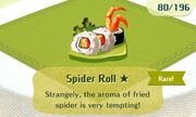 Spider Roll 1star