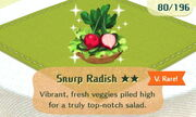 Snurp Radish 2star
