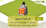 Space Food 1star