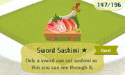 Sword Sashimi 1star