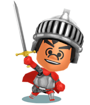 Miitopia Job - Warrior