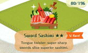 Sword Sashimi 2star