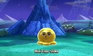 """Mini """"Sassy Child"""" Slime in-battle"""