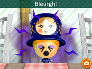 Bleurgh! Mii really hated the food