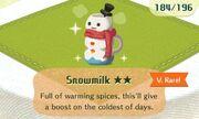 Snowmilk vrare