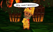 Complain about sock event