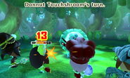 Donnut Touchshroom attacks