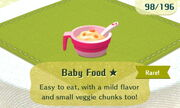 Baby Food 1star