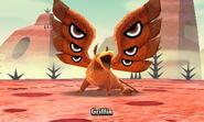 Griffin in battle