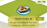 Shield Gratin 1star