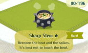 Sharp Stew 1star