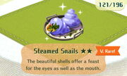 Steamed Snails 2star