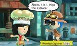 Traveler's Hub Worried Explorer