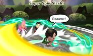 Super spin slash
