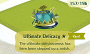 Ultimate Delicacy 1star