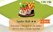 Spider roll very rare