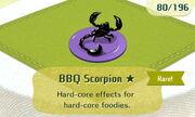 BBQ Scorpion 1star