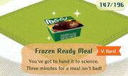 Frozen Ready Meal