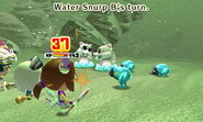 Water Snurp attacks